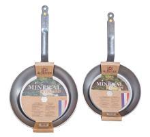 Набор сковород 24 см и 28 см Mineral B Element De Buyer