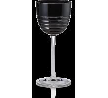 Бокал для Белого вина 0,20 л черный