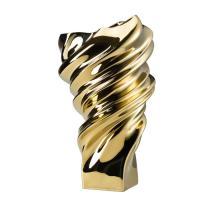 Ваза 32 см золотая Squall Rosenthal
