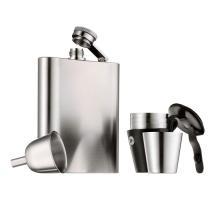 Набор фляга для алкоголя с рюмками 6 предметов Manhattan WMF